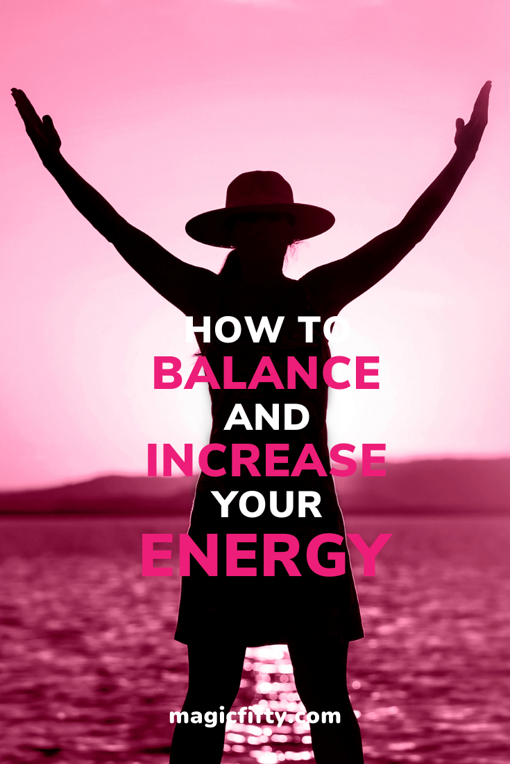 How to Increase Your Energy Levels Over 50